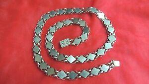Gorgeous-Vintage-Antique-Sterling-Necklace