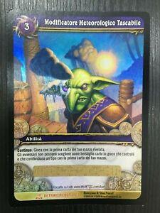 World-Of-Warcraft-TCG-Personal-Weather-Maker-Betrayer-Loot-2-3-Italien