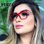 Women-Fashion-Cat-Eye-Style-Optical-Glasses-Clear-Lens-Myopia-Glasses-Frame-Hot thumbnail 1