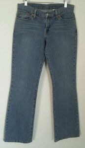 Lucky-Brand-Jeans-Women-039-s-size-4-27-Low-Rise-Flare-Leg-Cotton-Blend-Inseam-32