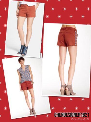 Brand in taglio tagliati nuovo a con Pantaloncini stile chino 30us contrasto 10 a8xBqwf