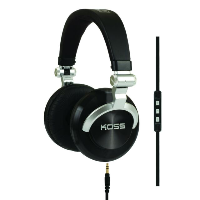 Koss PRODJ200 Cap Studio with Koss Touch Control (KTC) and microphone in line