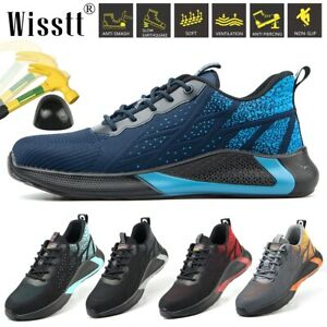 Mens-Work-Safety-Shoes-Indestructible-Steel-Toe-Hiking-Boots-Breathable-Sneakers