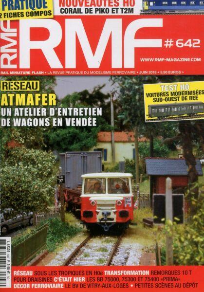 AgréAble Rmf Rail Miniature Flash N°642 (juin 2019) êTre Nouveau Dans La Conception