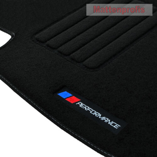 12//2011 MP velluto logo PB performance Tappetini Per BMW 1er f21 3-türig ab Bj