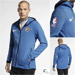 NIKE-NBA-OKLAHOMA-City-Thunder-Therma-Flex-SHOWTIME-Mens-Hooded-Jacket-XXL