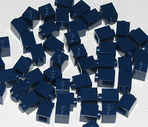 Lego-Lot-of-50-New-Dark-Blue-Bricks-1-x-1-Dot-Building-Blocks-Pieces