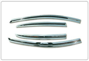 //////// 2011 ~ on Chrome Door Sun Visor  Molding For Chevrolet Orlando