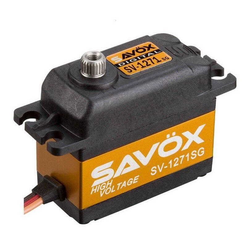 Savox SV1271SG Hv Coreless Digital Servo .08/347.2 Standard Size 7.4v