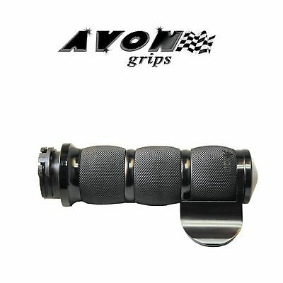 Avon Avon Grips Velvet Air Grips Anodized Throttle Slide With Throttle Assist