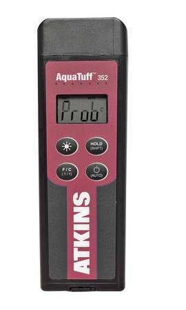 COOPER ATKINS 35200-K NSF Thermometer,1 Input,Type K