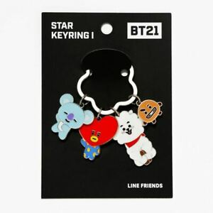 Star Keychain 1 (KOYA, TATA, RJ, SHOOKY) BT21