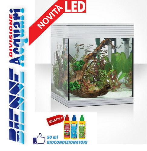 ACQUARIO NOVITA' LAMPADA LED LED LED ASKOLL PURE AQUARIUM M COMPLETO DIM 36X36 H 43 77d607