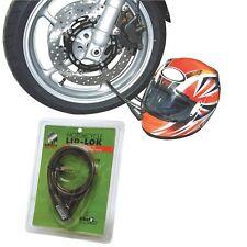 MOTORBIKE MOTORCYCLE BIKE SCOOTER HELMET & CLOTHING LOCK MAMMOTH SECURITY LOCLID