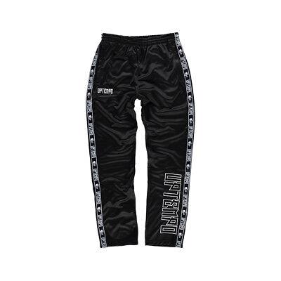 "Puntuale Uptempo Allenamento Pantaloni ""logo""   Black (315tp01050) Hardcore Gabber-"