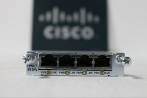 Cisco-HWIC-4ESW-4-Port-10-100-Ethernet-Switch-Interface-Card-Genuine-w-HOLOGRAM