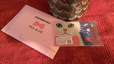 $9--> Starbucks Taiwan LIMITED Paul & Joe Kitty GIFT CARD w/Matching Sleeve