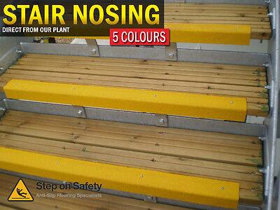 Stair Nosing Anti Slip Nosings for Slippery Steps & Stair Edges - Quartzgrip