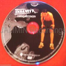 INSANITY - Cardio Recovery - New DVD / Shaun T - (1 DVD)