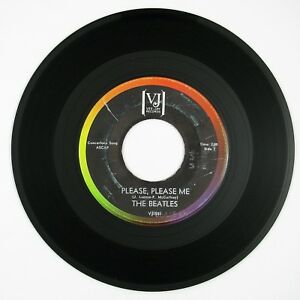 BEATLES-Please-Please-Me-From-Me-To-You-7IN-1964-ROCK-VG-LISTEN