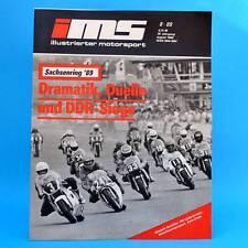 DDR Zeitschrift IMS 8/1989 Illustrierter Motorsport Sachsenring Honda HRC Enduro