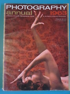 POPULAR PHOTOGRAPHY'S ANNUAL 1963 Annual Magazine Art ...Rhere Popular Magazine