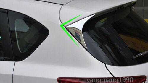 Chrome Rear Window Sill Trim for Mazda CX-5 2013-2015 2pcs high quality