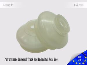2-X-UNIVERSAL-Tuning-Polyurethane-11-27-22-Track-Rod-End-and-Ball-Joint-Boots