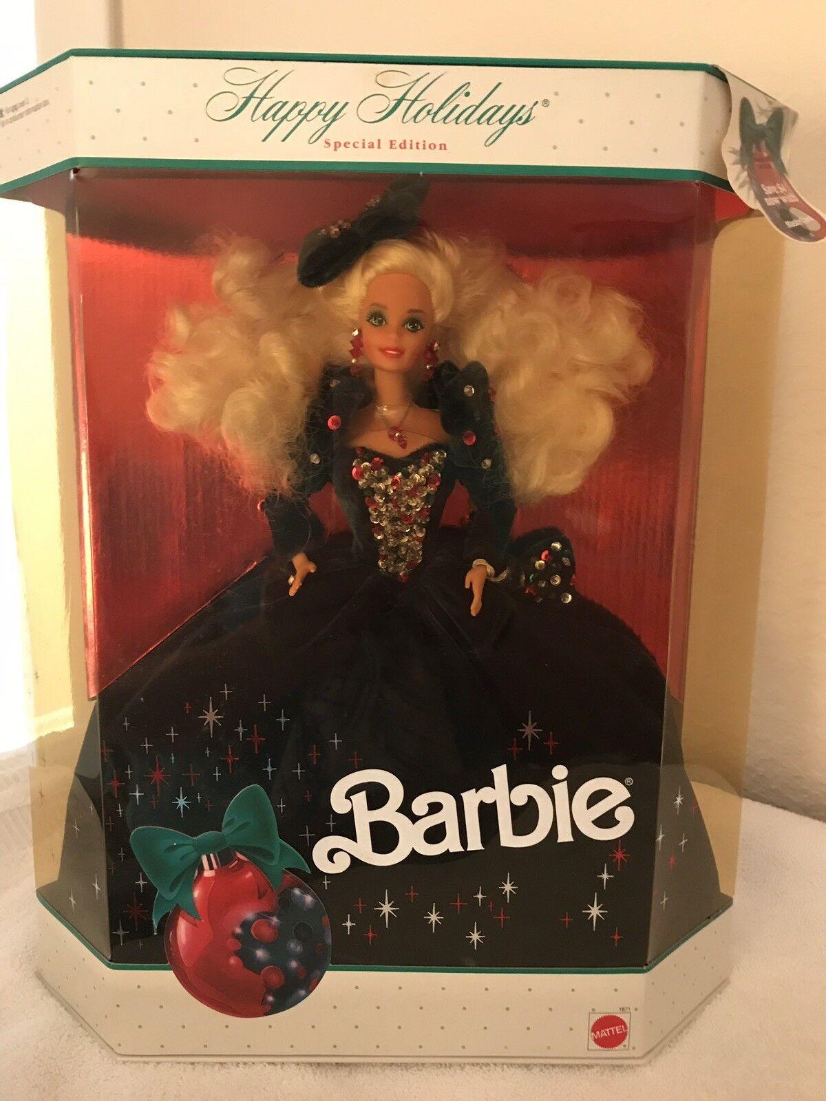 Vacaciones Barbie 1991 MIB de edición limitada
