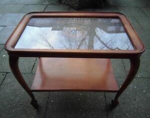 Analytisch 50er 60er Teewagen Bar Servierwagen Table Mid Century Tisch Rockabilly Reisen Beistelltische Stilmöbel Nach 1945