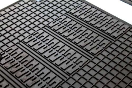 Gummimatten Fiat 500 X Gummi Fußmatten Gummifußmatten Satz 4 Teilig