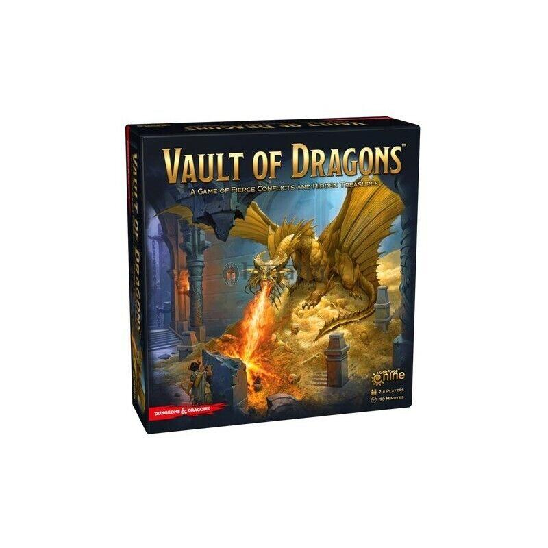 Dungeons  & Dragons D&D Vault of Dragons, Boardgame, nouveau by GF9, English Edition  prix de gros