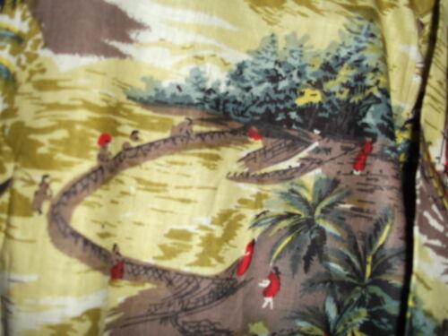 NEW TROPICAL ISLAND LIFE 100/% cotton HAWAIIAN SHIRT sz  L or M by EVEREST