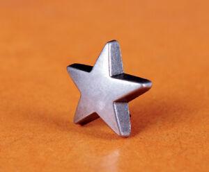 30pcs-STAR-Metal-Rivet-Studs-5-8-034-15mm-Leather-Crafts-Purse-Belt-Decor-Concho