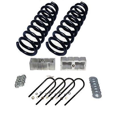 "S10 Drop Spindles /& Blocks 2/"" Frnt 3/"" Rear 2//3 Lowering Suspension Level Kit xzx"