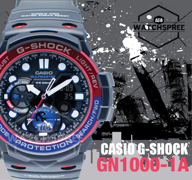 Casio G-Shock Master of G GulfMaster Series Watch GN1000-1A AU FAST & FREE