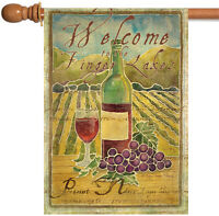 Toland - Pinot Noir Welcome To The Finger Lakes - Regional Wine House Flag