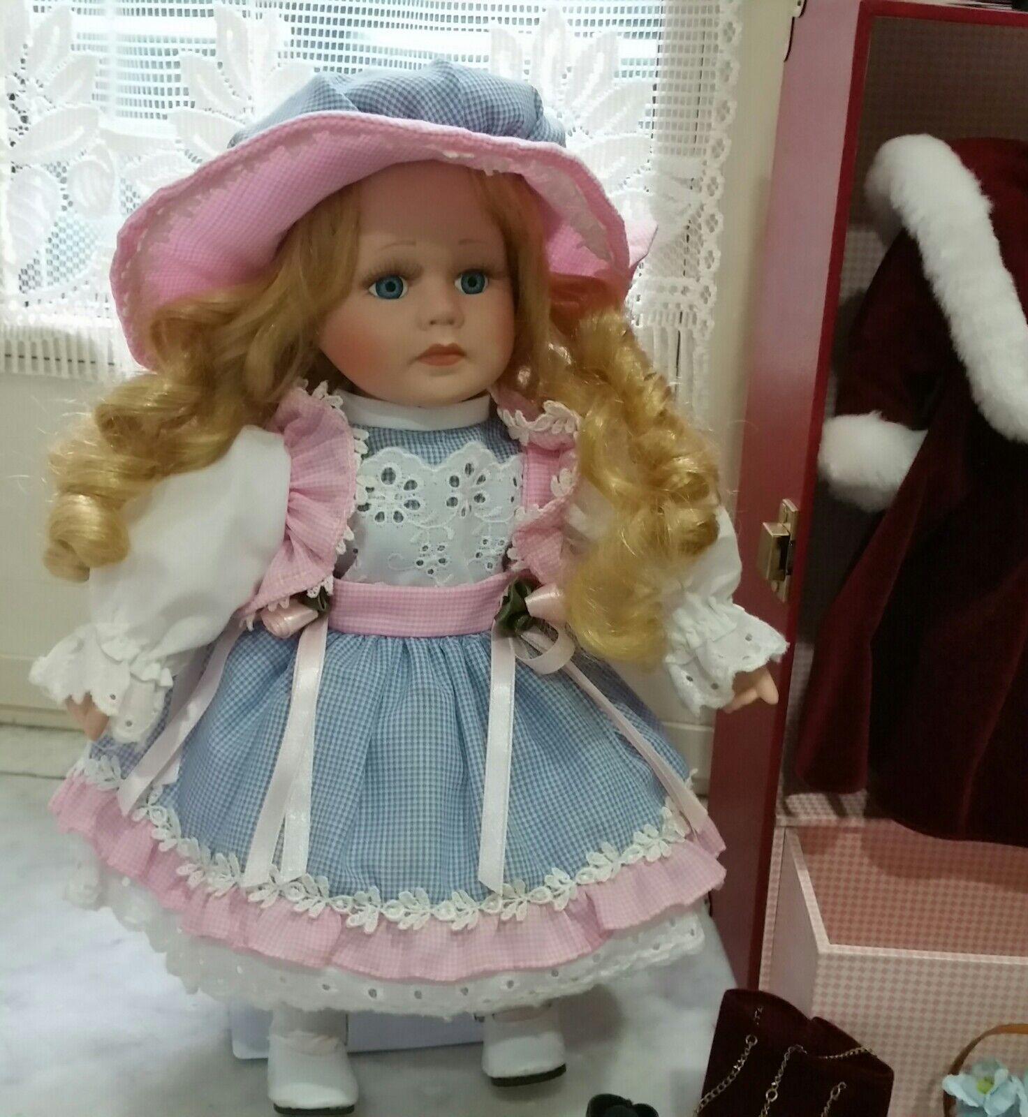The LEONARDO Collection Bambola di porcellana made England