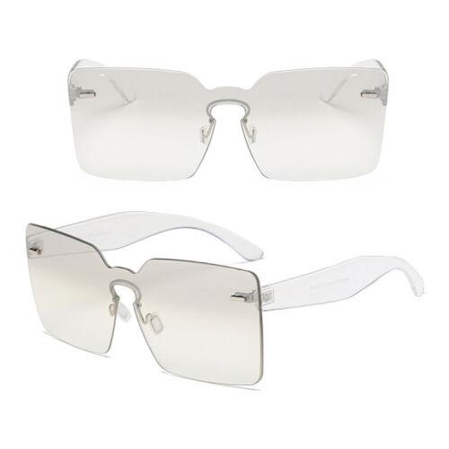 Womens Luxury Sunglasses Rimless Mens Retro Shades Fashion Square Sun Glasses