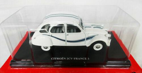 Citroën 2 CV FRANCE 3 1//24 Neuf en boite voiture miniature collection