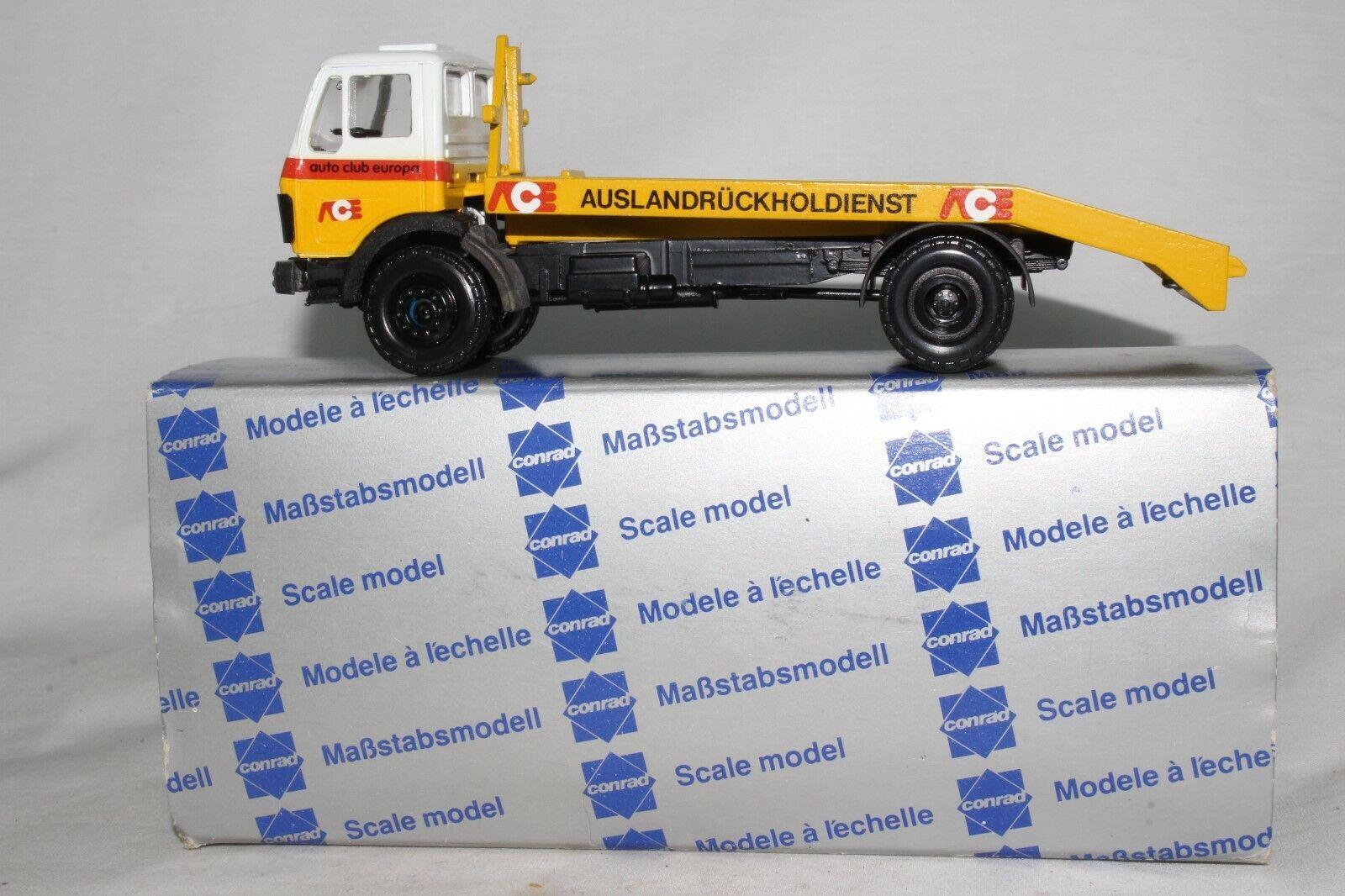 CONRAD CAMION  modèles, MERCEDES AUTO CLUB Europe rabattre, NICE échelle 1 50th  mode classique