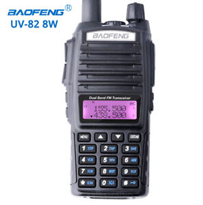 Baofeng-UV-82-Real-8W-Walkie-Talkie-Dual-Band-VHF-UHF-Two-way-Radios-transceiver