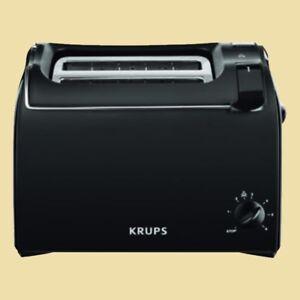 Krups-Toaster-ProAroma-KH-1518-schwarz-matt
