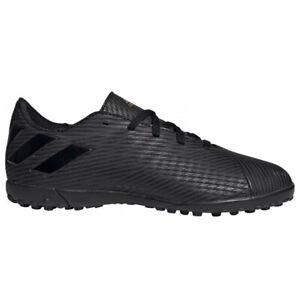 adidas-Kids-Nemeziz-19-4-Turf-Soccer-Shoes-Core-Black-Utility-Black-EG3313