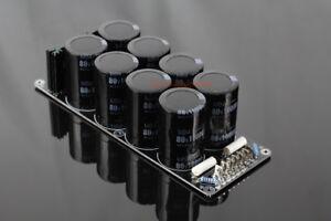 Assembeld-8X-10000uf-80V-Power-supply-board-for-amp-DIY-Rectifier-PSU-board
