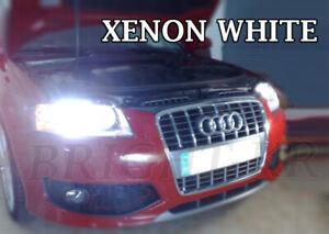 Audi-A3-A4-B7-8P-SUPER-XENON-6000K-WHITE-HEADLIGHT-LAMP-LIGHT-BULBS