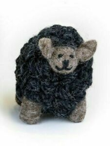 Erin Knitwear Woollen Sheep Small (Charcoal)