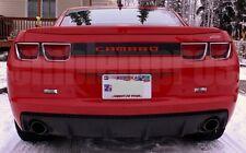 GM LICENSED, 2010+ CAMARO REAR BUMPER LETTERING COLORS UV RATED COMPOSITE