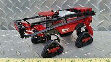 1/64 ERTL CUSTOM FARM TOY MILLER NITRO 6500 SPRAYER APPLICATOR & QUAD ROW TRACKS