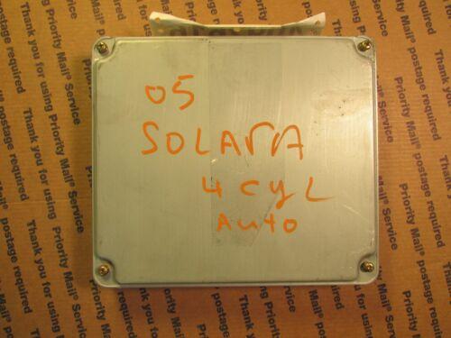 04 TOYOTA SOLARA 4CYL AT ECU ECM COMPUTER NUMBER 89661-0X131